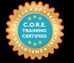 C.O.R.E. Training Certified