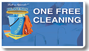 One Free Cleaning Service