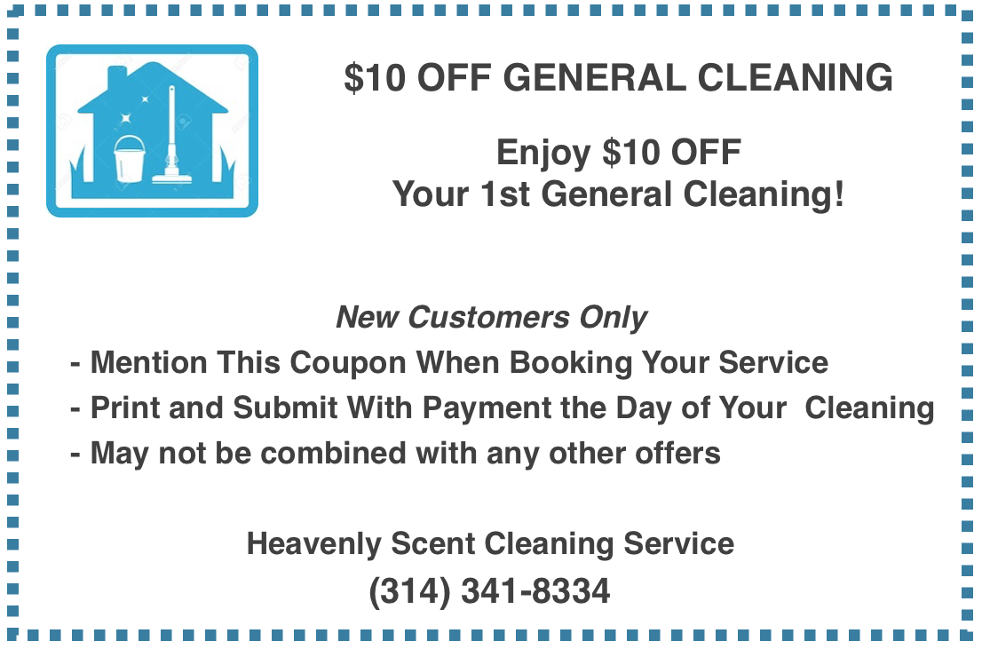 house cleaning service coupon st. louis mo