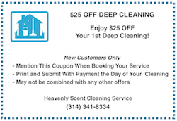 maid service coupon st. louis mo