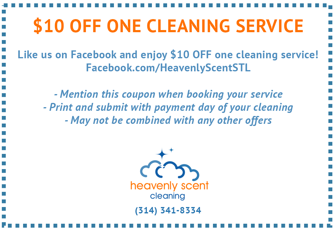 $10 Off Cleaning Service St. Louis MO