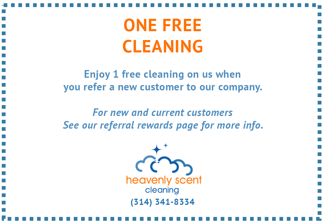 Free House Cleaning Service with When You Refer a Customer